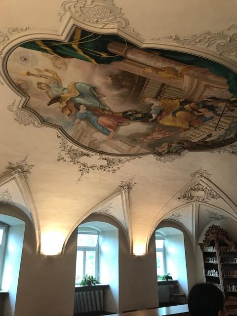 Kloster Deckenmalerei